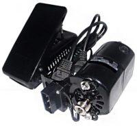Электропривод для бытового оверлока 150W (с педалью)